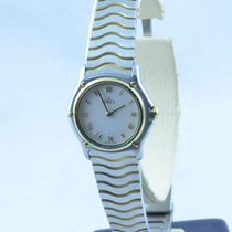 Ebel Classic Wave Damen Uhr 25mm Quartz Stahl/18k Gold 750...