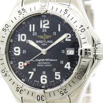 Breitling Polished Breitling Super Ocean Steel Automatic Mens...