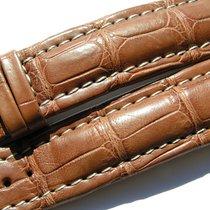 Tradema Croco Armband Band Strap 20/18mm 80/120 Braun I182