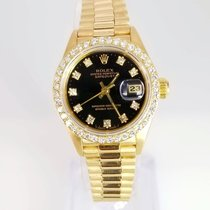 Rolex Lady-Datejust Original Diamond Dial Aftermarket  Bezel
