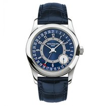 Patek Philippe Calatrava Date by hand White Gold Automatic...