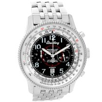 Breitling Navitimer Montbrillant Steel Automatic Mens Watch...