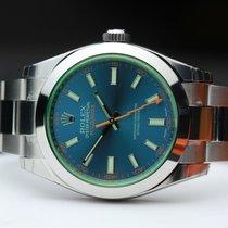 Rolex Milgauss Z-Blue NEW Ref. 116400GV