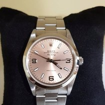 Rolex Air King Precision salmon dial - box and warranty 1 year