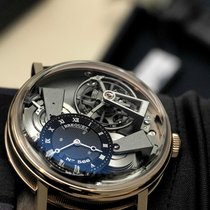 Breguet Tradition 7047 Grey Dial Pink Gold Case 7047BRG99ZU
