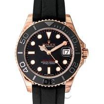 ロレックス (Rolex) Yacht-Master Black/Everose Gold Lady 37mm - 268655