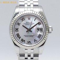 ロレックス (Rolex) ロレックス 179174NR D番 ピンクシェル