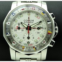 Corum | Admiral's Cup Chronograph Stainless Steel, Full Set