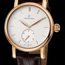 Chronoswiss Sirius Small Seconds Red Gold-Silver Dial 40mm...