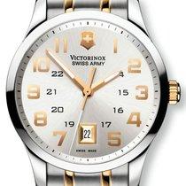 Victorinox Swiss Army Alliance Two Tone Steel Mens Watch...