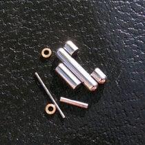 Breitling Rouleaux Glied Link 14mm Komplett Stahl Gold Steel...