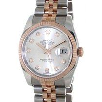 Rolex Datejust 36 116231 Steel, Rose Gold, Diamonds, 36mm