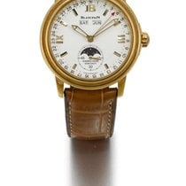 Blancpain | A Yellow Gold Automatic Triple Calendar Wristwatch...