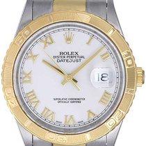 Rolex Turnograph 2-Tone Men's Steel & Gold Watch 16263