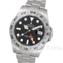 "롤렉스 (Rolex) Explorer II Black Dial Stainless Steel ""New..."