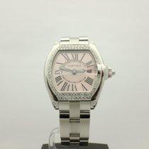 Cartier Roadster Ladies Stainless Steel Diamond bezel Ref.W620...