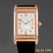 Jaeger-LeCoultre Reverso   18K Rose Gold &  JLC Diamonds