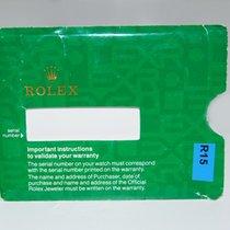 Rolex Papierhülle