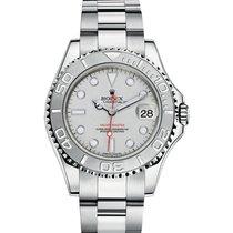 롤렉스 (Rolex) YACHT-MASTER 35mm Steel & Platinum Watch 2016