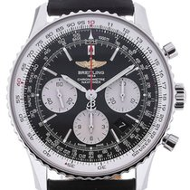 百年靈 (Breitling) Navitimer 43 Automatic Chronograph Leather...