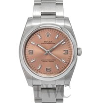 Rolex Perpetual 34 Rosa gold/Steel 34mm - 114200