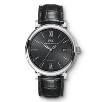 IWC Portofino Automatic  Black Dial IW356502 Mens WATCH