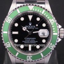 Rolex Submariner Date classic green bezel V series full set