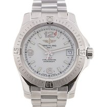 Breitling Colt 36 Date Silver Dial