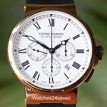 Ulysse Nardin Maxi Marine Chronograph 43mm Rose Gold Limited...