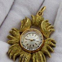 Certina 18ct ( 24gr ) golden MINT vintage pendant / marriage...