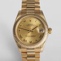 """Rolex Datejust 31mm Yellow Gold """"Midi"""""""