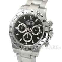 "롤렉스 (Rolex) Cosmograph Daytona Black Dial Steel 40MM ""Rand..."