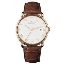 Blancpain Men's 6651-3642-55B  Ultraplano Auto Watch