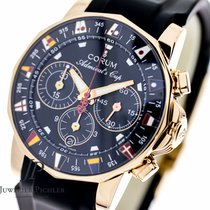 Corum Admirals Cup 985.671.55 18K Rose Gold, Box & Papers