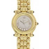 Chopard Happy Sport 18K Yellow Gold/Diamonds 27/6150-23
