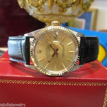 Rolex Oyster Perpetual Datejust 18k Gold Stainless Steel Gold...