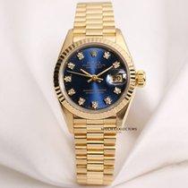 Rolex Lady DateJust 69178 18k Yellow Gold Diamond Dial