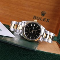 Rolex Oyster Perpetual Steel & Gold 14203M