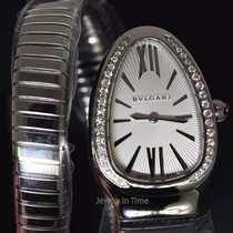 Bulgari NEW  Serpenti Steel & Diamond Ladies Watch...