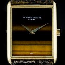 Vacheron Constantin 18k Yellow Gold Tigers Eye Dial Vintage...