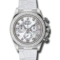 Rolex Cosmograph Daytona 116589 116589-MOPD White Mother Of...
