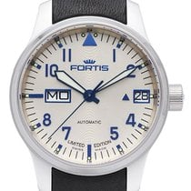 Fortis F-43 Flieger Silver Line Big Day/Date