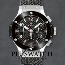 Hublot Big Bang Steel Ceramic Black Dial 44mm 301.SB.131.RX T
