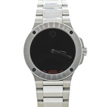 Movado SE Extreme Stainless Steel Black Museum Dial 44mm Watch