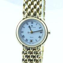 Maurice Lacroix Les Classiques Damen Uhr 25mm Stahl Vergoldet