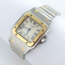Cartier Santos Galbee Herren Uhr Stahl/gold Ref.1566 Papiere 1999