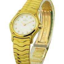Ebel 8003F11/9425 Classic Wave Ladies Mini 24mm in Yellow Gold...