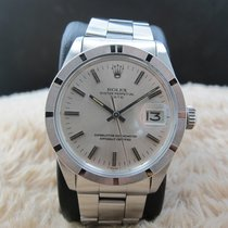 Rolex OYSTER DATE 1501 with Original Silver Dial with Folded...