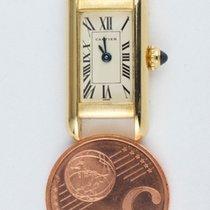 Cartier Ladies mini tank allongee 18k yellow gold Ref. 1492