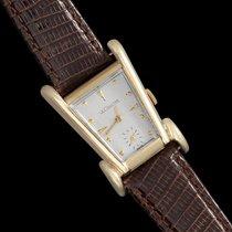 Jaeger-LeCoultre 1955 Vintage Mens Watch, Rare Case, 10K Gold...